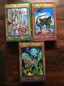 Deltora Quest Series 1, 2 and 3 hardcover secondhand Berowra Heights Hornsby Area Preview