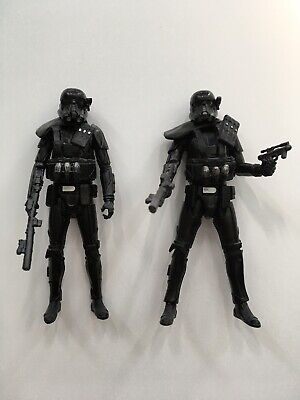 "Star Wars Imperial Death Troopers X2 3.75"" Action Figures Loose Complete"