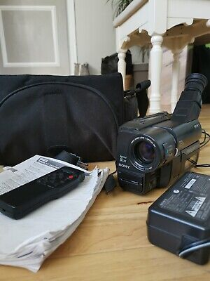 SONY CCD-TRV27E 8mm Video 8 BUNDLE with remote control