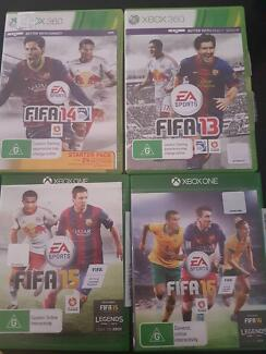 Xbox 360 & Xbox One Fifa 13,14,15 &16