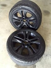 "17"" falcon wheels Largs Maitland Area Preview"
