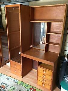 Wooden dresser with cupboard Gladstone Gladstone City Preview