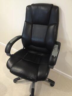 Black Computer Office Chair Morphett Vale Morphett Vale Area Preview