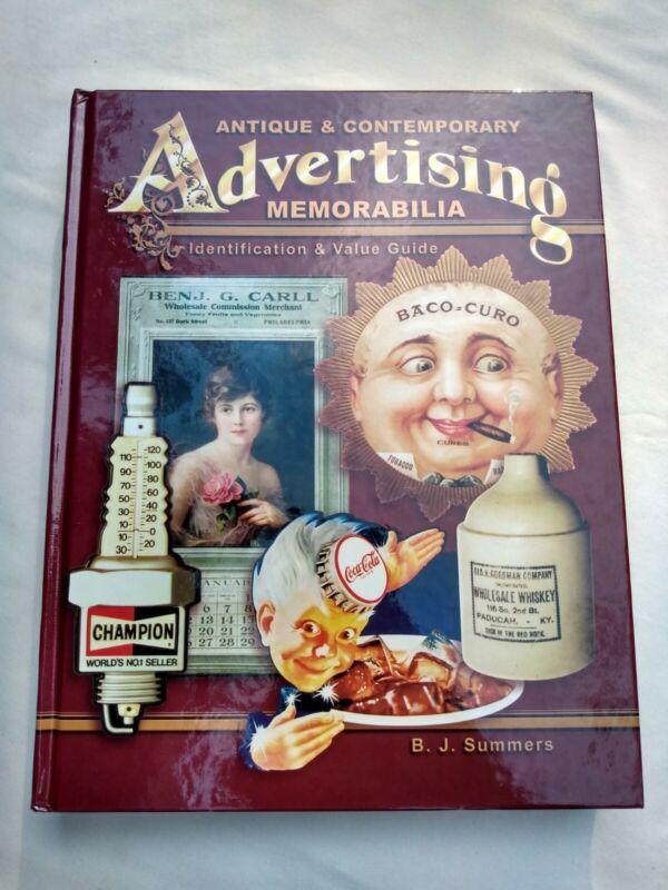 Antique Contemporary Advertising Memorabilia Identification Value BJ Summers HB