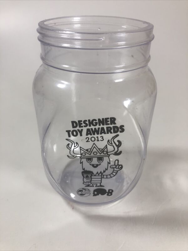 Clutter Magazine Designer Toy Awards 2013 Plastic Cup Collectible