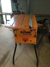 Triton 2000 workcentre planer-jig Mk III table saws router top Gleniffer Bellingen Area Preview
