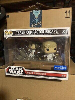 Funko Pop! Trash Compactor Luke Skywalker Star Wars Movie Moment *NEW 224