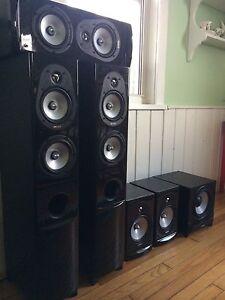 Energy Connoisseur 5.1 surround speakers