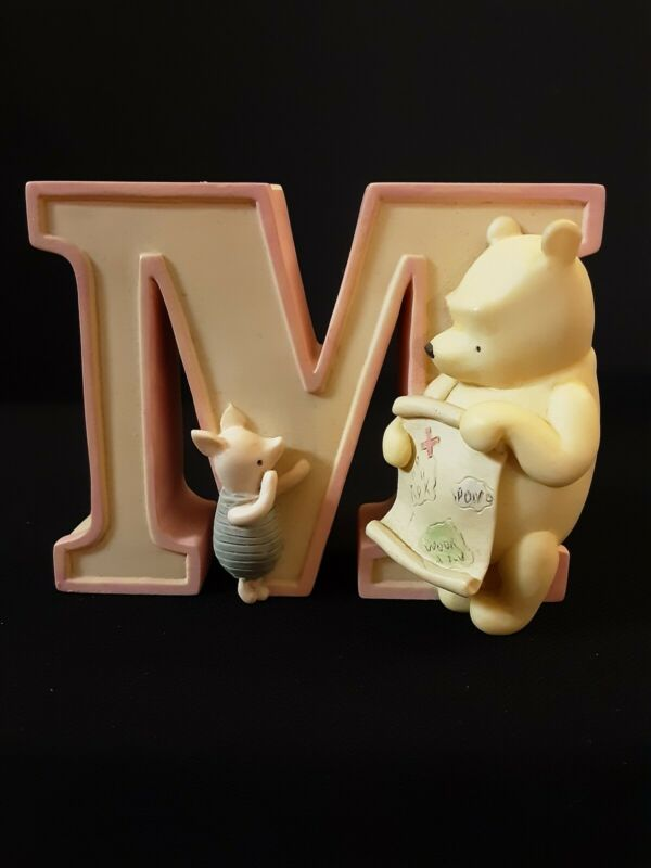 Disney Michel & Company Classic Winnie The Pooh Alphabet Letter M Is For Map