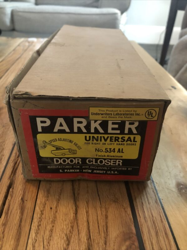 NIB Parker Universal Door Closer No. 534 AL New