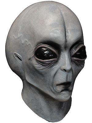 Ghoulish Productions Area 51 Alien Adult Mask - Grey Alien Mask