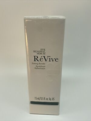 REVIVE EYE RENEWAL SERUM FIRMING BOOSTER FULLSIZE .5 OZ FACTORY SEALED AUTHENTIC