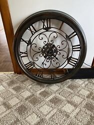 Celebrating Home Brand large metal wall clock