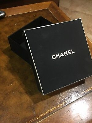 Authentic New limited edition CHANEL brand black gift Box