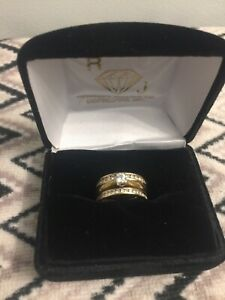 Stunning 18 k gold ring  will trade for Chrysler 300 or dually