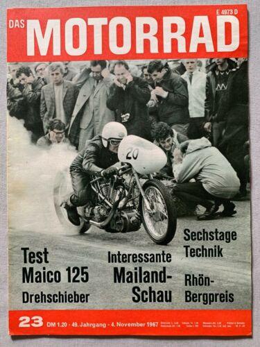 Motorrad November 1967 German Motorcycle Magazine