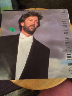 "Eric Clapton - Behind the Mask - 7"" Single"