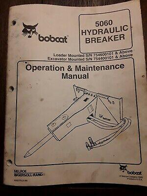 Bobcat 5060 Hydraulic Breaker Operation Maintenance Manual