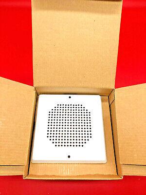 Siemens Sef-w Fire Alarm 500-636042 White Speaker Siren Alert 135429