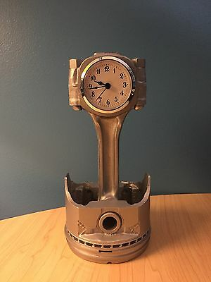 Small Block Chevy Piston Clock - Man Cave! - Desk Clock