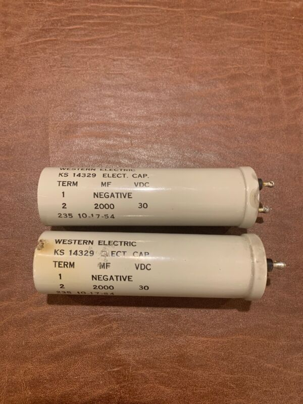Western Electric Electrolytic Capacitor
