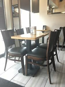 Standard Restaurant Chairs (8)- USED