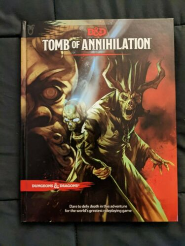 Dungeons & Dragons - Tomb of Annihilation - Adventure - Hardcover - NEW