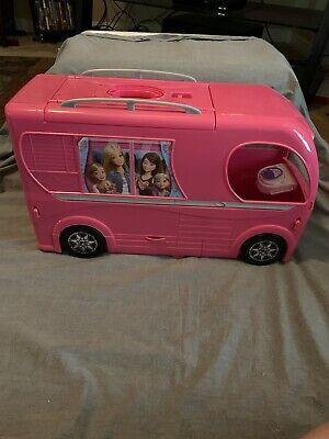 2014 Barbie Dream Camper Van RV Motor Home w/pool & 2nd story FS Bnefits Charity