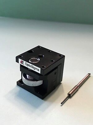 Optosigma Z-axis123-3350 25mm Preset Dovetail Stage Thumbscrew Positioning.