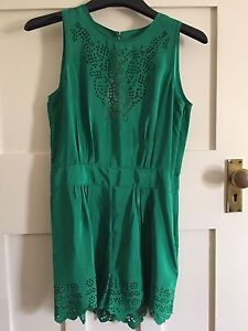 ASOS emerald green playsuit. Never worn Coogee Eastern Suburbs Preview