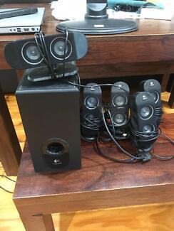 Logitech X-530 PC Speakers