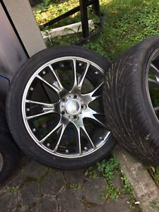 Honda prelude 18,inch rims and tires