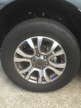 """Ford Wildtrak MkII 18"""" wheels and tyres Cardiff Lake Macquarie Area Preview"""