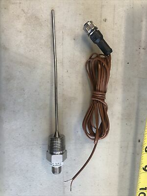 Omega M12jss-18-u-6-b Thermocouple Probe Type-j 6 Inch 12npt With M12 Cable