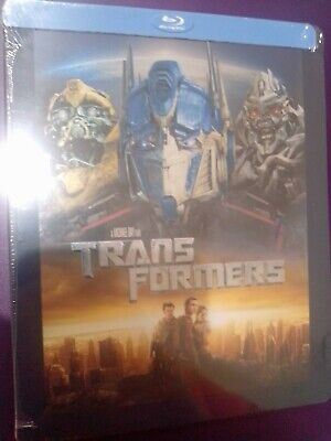 NEW SEALED Transformers *Steelbook*   (Blu-Ray Disc ) no dings dents FAST SHIP!!
