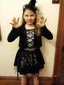 Girls gothic witch costume for sale Bassendean Bassendean Area Preview