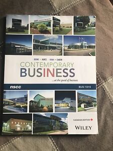 NSCC The Business environment textbook