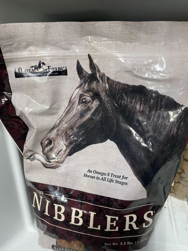 Omega Fields Nibblers Low Sugar & Starch Healthy Founder Insulin Horse 3.5 lb