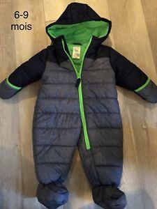 Manteau de printemps et manteau d'hiver pour bébé