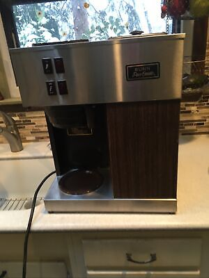 Bunn Pour-omatic Vpr 12 Cup Commercial Coffee Maker Pour Over Brewer Warmer