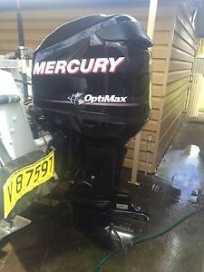 2010 Mercury Optimax 115 hp DFI Outboard 200 hours Emu Plains Penrith Area Preview
