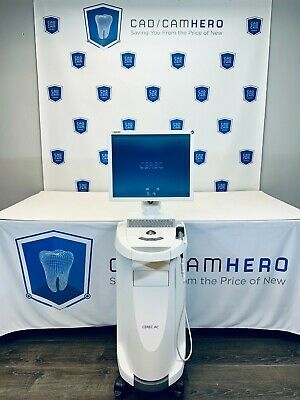 2013 Sirona Cerec Ac With Omnicam Cerec Sw 4.6 Ram Upgrade New Lens