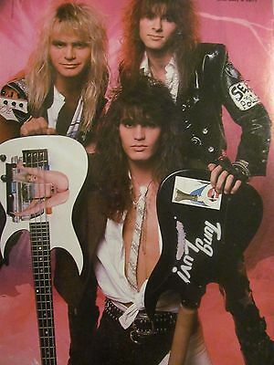Warrant, Full Page Vintage Pinup