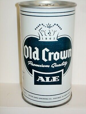 """OLD CROWN ALE """"TEST CAN - BCCA 237-15""""  S/S BEER CAN T189"""