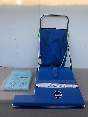 Powr-flite Shp Pf2008 Wide Area Isle Sweeper 28 Vacuum Cleaner Commercial Bags