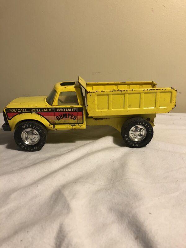 "Nylint Metal Dumper Truck ""You Call...We"
