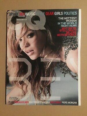 Baldwin Magazin (GQ MAGAZINE - Beyoncé (Feb 2007) Alec Baldwin, Gordon Ramsey, Hot Fuzz))