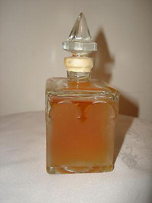 Vintage Rare Black Castle Perfume Cologne Greece Collectible Bottle Sealed