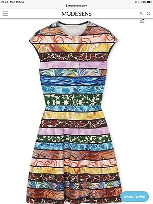 Mary Katrantzou Jersey Printed Dress Size M