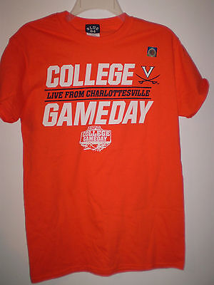 Virginia Cavailers Shirt Basketball  S  Small Espn College Gameday 2015 Uva Hoos